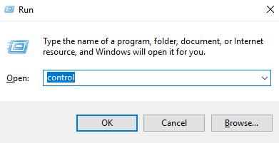 get control panel in windows 10