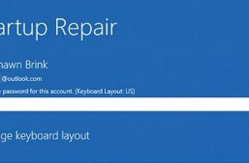 startup repair windows 10