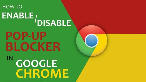 how to disable pop up blocker on chrome