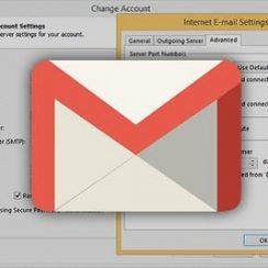 gmail smtp setings