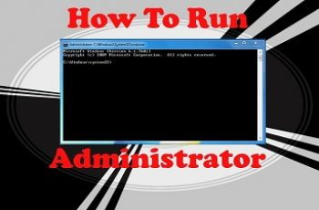 command prompt as administrator