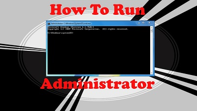 Run CMD as Administrator