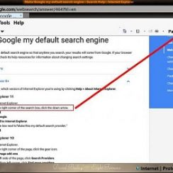 make google default search engine internet explorer 11