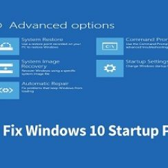windows 10 startup problems
