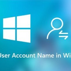 how to change name in windows 10
