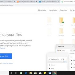 google drive back and sync tool