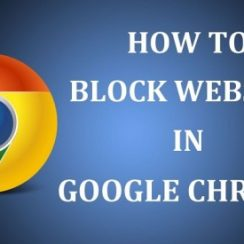 block a website on chrome