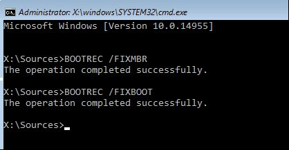 how to fix mbr in windows 10