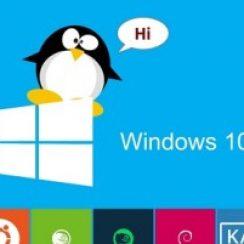 windows 10 run linux