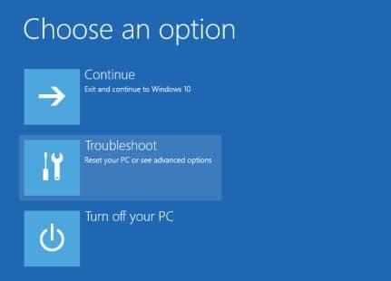 windows 10 system restore